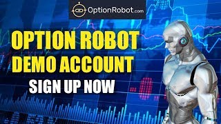 OptionRobot Review - Scam Or Legit - First Trades And Settings  - Binary Options Strategy