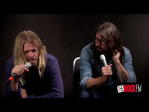 Dave Grohl & Taylor Hawkins - Interview (TheRockFM 2017)