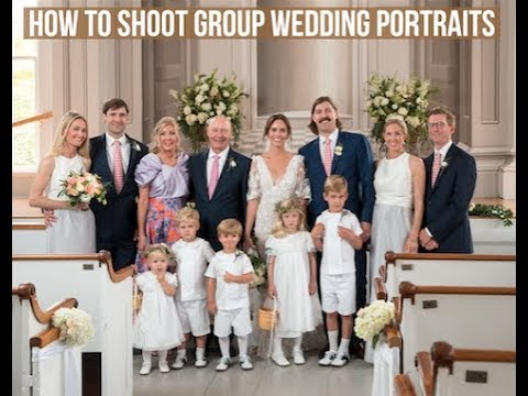 Denis Reggie's 7 Tips on How to Shoot Group Portraits at a Wedding