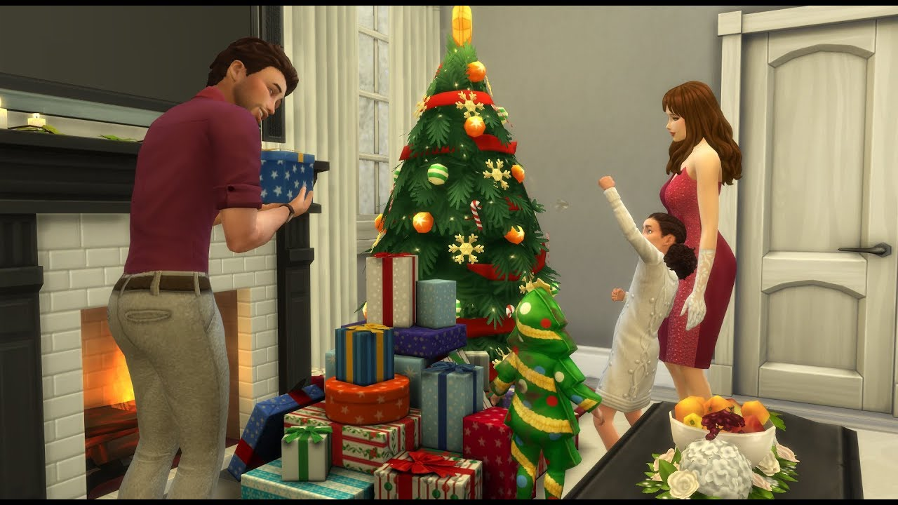 4 Seasons Group the sims 4 seasons|group christmas singing