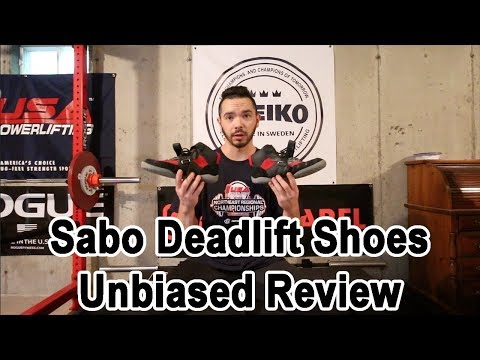 MaxBarbell - Sabo Deadlift Shoes Unbiased Review