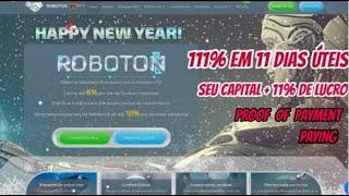 PAGOU!!! VEJA (Roboton) ME PAGOU $16.10 USD EM MENOS DE 1 HORA - Proof of Payment