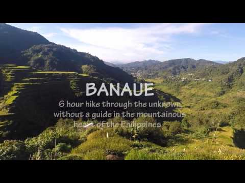 NO TOUR GUIDE THROUGH THE IFUGAO RICE TERRACES IN BANAUE PHILIPPINES