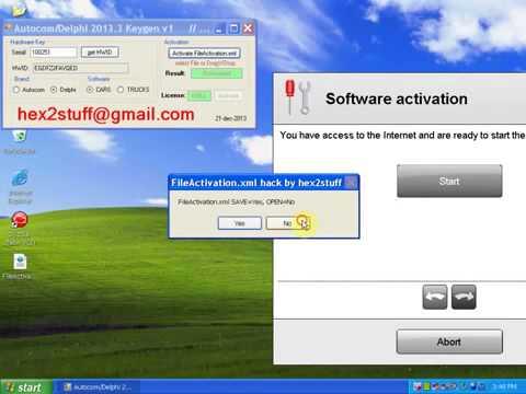 Autocom Delphi 2013.3