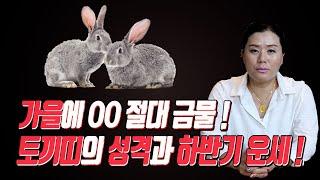 ''2020년하반기 토끼띠 월별 운세''(재물운.사업운.연애운).토끼 띠 분들 가을에 OO하시면 절대 안 됩…