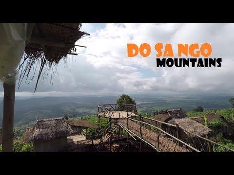 Thailand Travel - Beautiful Doi Sa Ngo Mountains Overlooking Laos - Chiang Rai