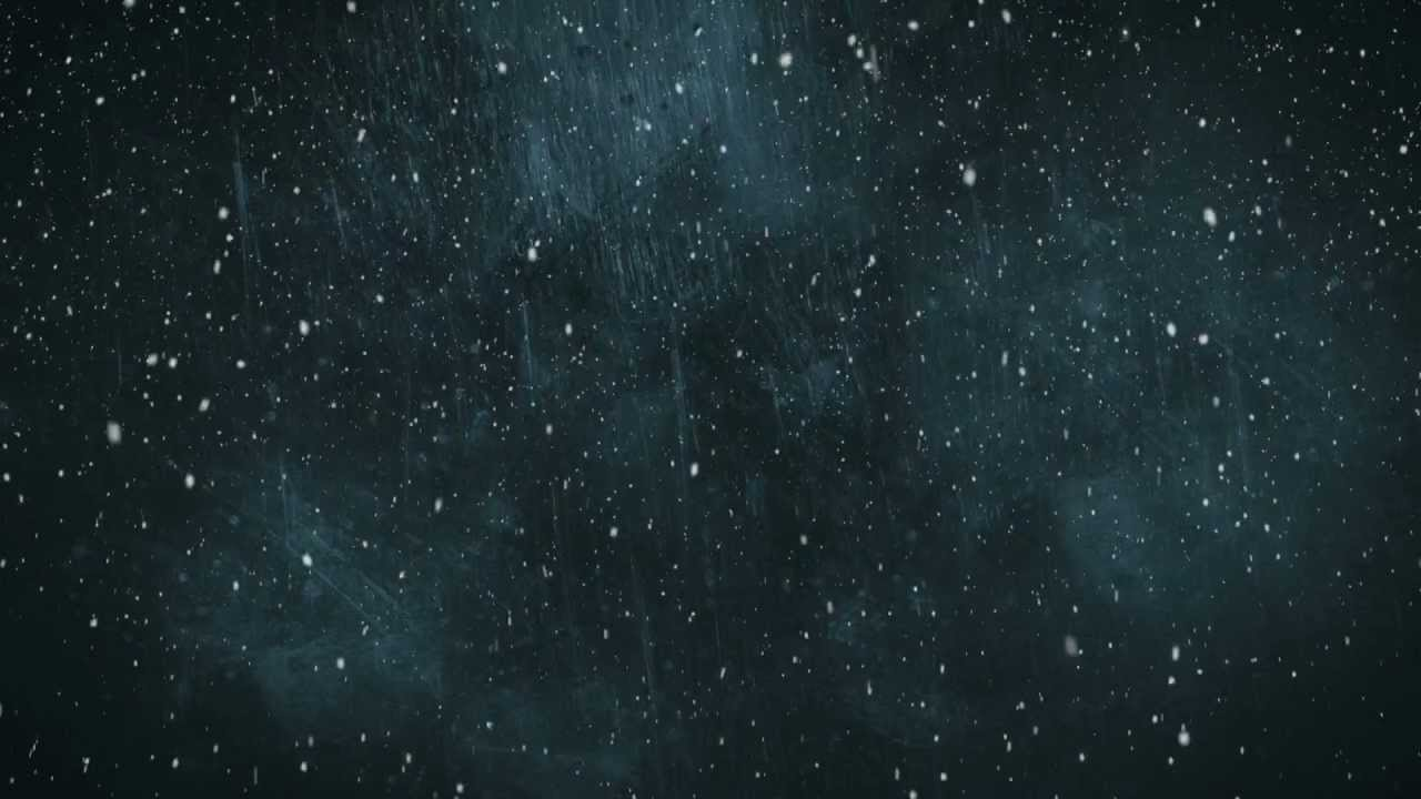 Snow Falling Live Wallpaper Download Blue Grunge Snow Hd Motion Graphics Background Loop