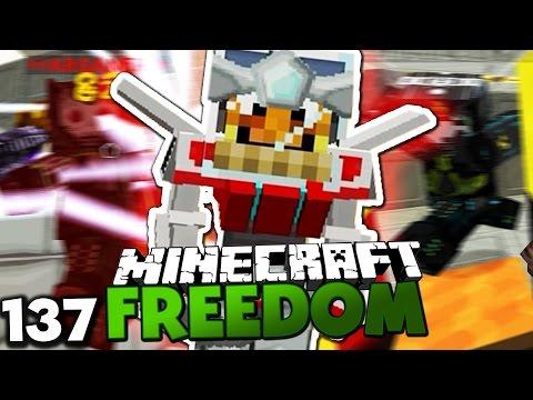 VERWANDLUNG IN EINEN TRANSFORMER! & GESCHENKE FÜR IGGI! ✪ Minecraft FREEDOM #137   Paluten