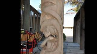 "How To Make A Tiki Statue        Da ""Tiki Spice"" tiki 2010"