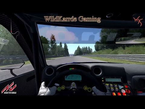 Assetto Corsa Dream Pack 1 - Nissan GT-R NISMO at Nordschleife - Drivers View |