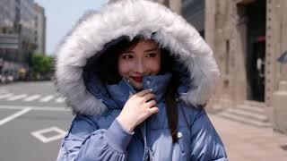 [해외직구] 겨울 숏 패딩 여성 제빵복에 도톰한 털목시…