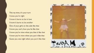 SZA - twoAM (Lyrics)