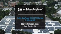 Commercial Solar Installation Jetro   Port Chester NY