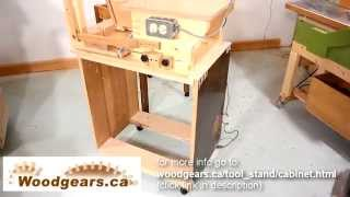 Mobile Tool Stand: The Cabinet