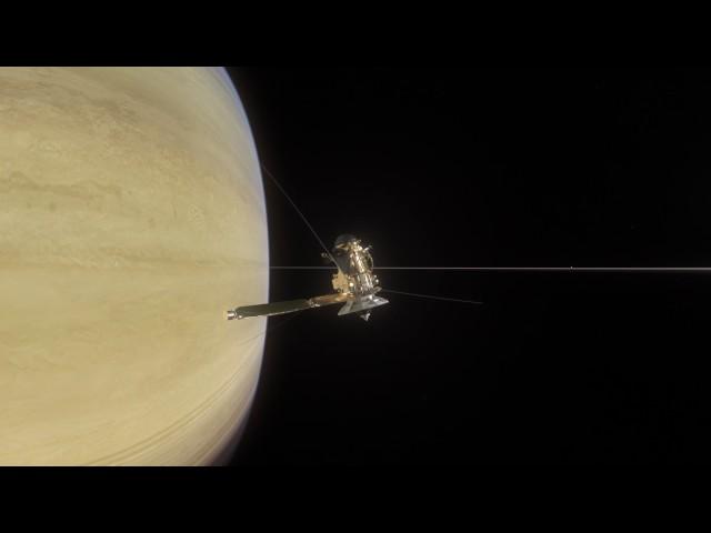 NASA VR: Cassini's Grand Finale (360 view)