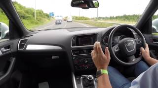 Virtual Video Test Drive in our Audi Q5 2 0 TDi S Line Quattro