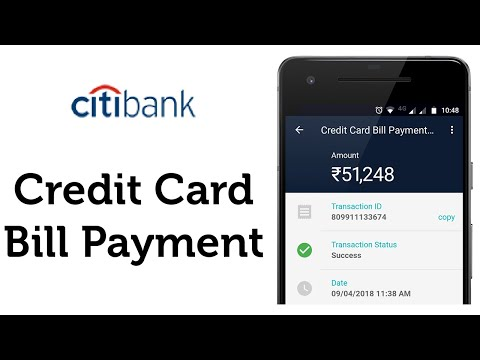 Citibank Credit Card Bill Payment in real-time