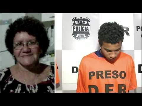 Neta é presa suspeita de mandar matar a avó de 67 anos