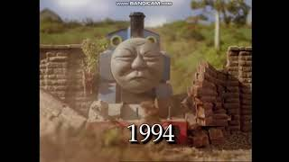I Put Ocean Man Voice Crack Over 30 Years Of Thomas And Friends Crashes Long