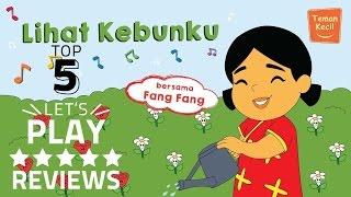 "Lagu anak Indonesia ""Lihat kebunku"" bersama fang-fang - teman kecil"