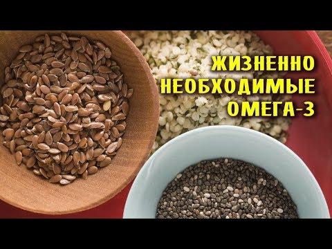 Почему ОМЕГА-3 чрезвычайно НЕОБХОДИМЫ для здоровья?
