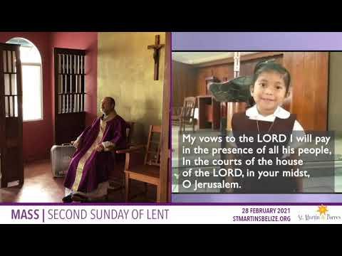 Sunday Mass | 2nd Sunday of Lent (28 Feb 2021)