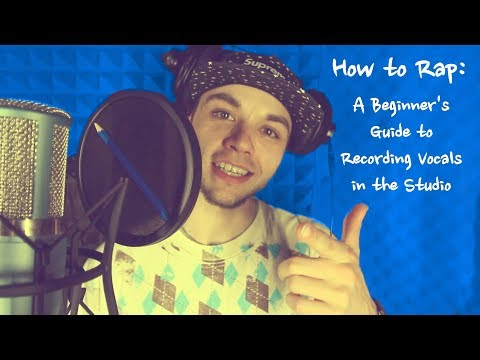 How to Rap: A Beginner's Guide to Recording Vocals in the Studio { First American Rapper in Russia }