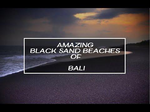 Amazing Black Sand Beaches of Bali