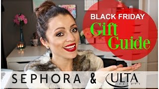 Black Friday Deals GIFT GUIDE | Sephora & Ulta 2015