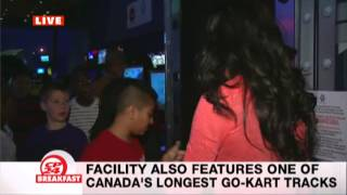 CP24 Breakfast Visits Playdium during March Break