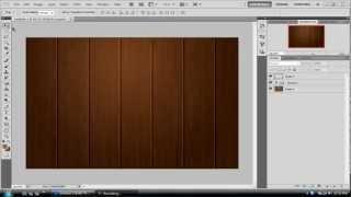 #2 Photoshop Cs5 - Wooden Texture