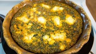 Low Carb Chorizo & Goat Cheese Quiche Recipe