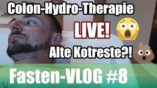 Live-Colon-Hydro-Therapie & Interview // massive Ausscheidungen (Grünes Saftfasten VLOG #8)