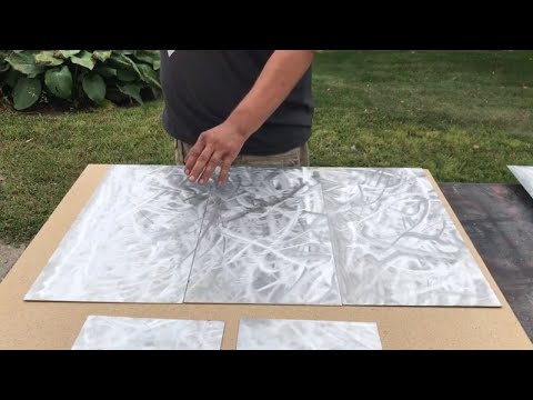 How I Prep My Aluminum Resin Art. DIY HOW TO