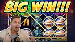 BIG WIN!! Da Vinci Mystery BIG WIN - NEW Slot from RedTiger played on Casinodaddys Live Stream