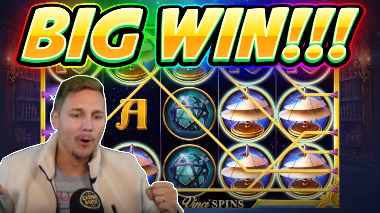 Big Win Da Vinci Mystery Big Win New Slot From Redtiger Played On Casinodaddys Live Stream Youtube