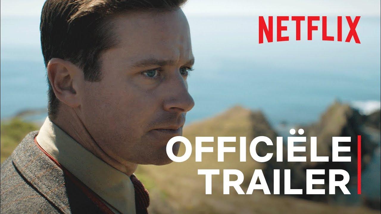 Armie Hammer & Lily James in Rebecca trailer op Netflix België