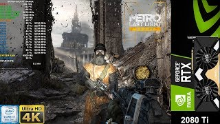 Metro Last Light Redux Very High Settings | RTX 2080 Ti | i7 8700K 5.3GHz