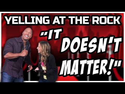 Dwayne The Rock Johnson Surprises Fans at San Andreas Screening