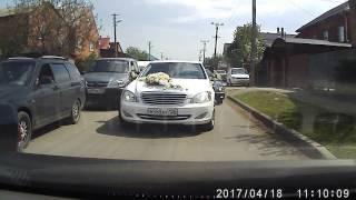 Свадьба на встречке в Краснодаре 18.04.2017(часть 2)