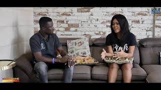 KWAKU MANU AGGRESSIVE INTERVIEW WITH JACKLINE MENSAH (COMEDIAN) 🔥🇬🇭🙏