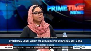 Alissa Wahid : Ini Alasan Keluarga Gus Dur Dukung Jokowi-Ma'ruf Amin