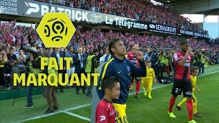 Le 1er match de Neymar avec le PSG en Ligue 1 Conforama - 2ème journée / 2017-18