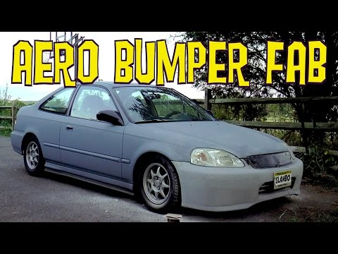 D-I-Y Aero Bumper Mod is Not Ricer – Ain't Fuelin' Honda Civic Build