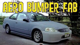 D-I-Y Aero Bumper Mod is Not Ricer - Ain't Fuelin' Honda Civic Build