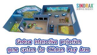 Sindrax Kids Interactive Projection System Collection