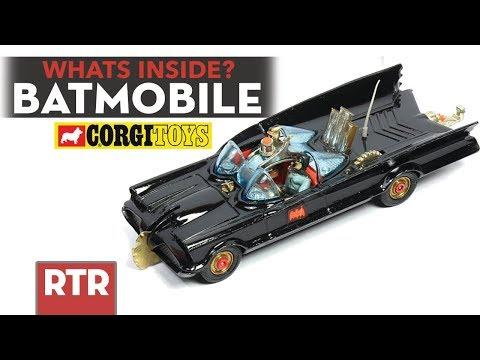 Whats Inside A Batmobile? | Vintage Corgi Toys Batmobile