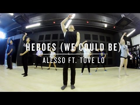 Heroes (Alesso ft. Tove Lo) Wenjun Choreography