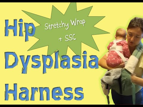 Babywearing With Hip Dysplasia Harness