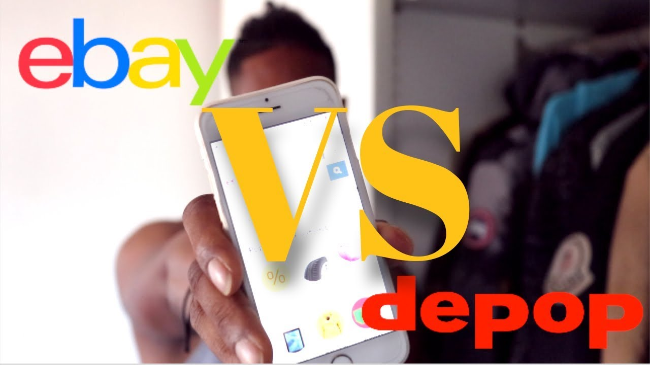 76b4044a7 DEPOP VS EBAY WHO'S BETTER FOR SELLING? | PRO'S & CON'S - YouTube